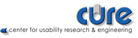 CURE - Center for Usability Research and Engineering